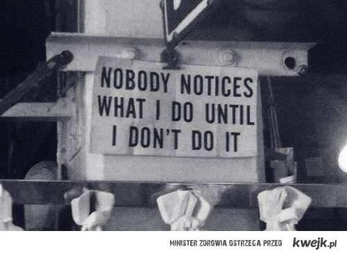nikt nie zauważa