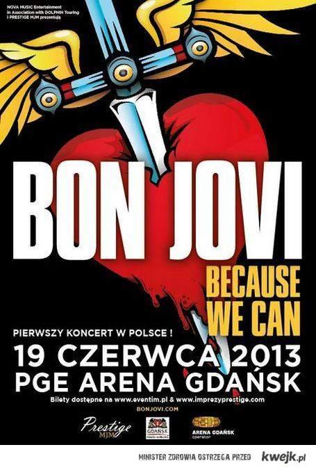 Koncert Bon Jovi w Polsce!