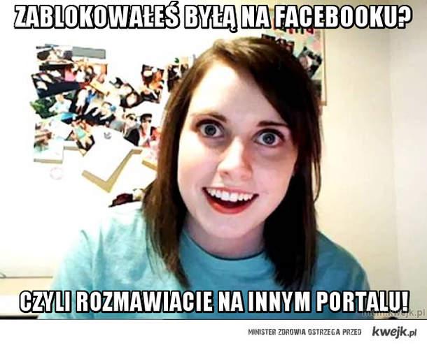 zablokowałeś byłą na facebooku?