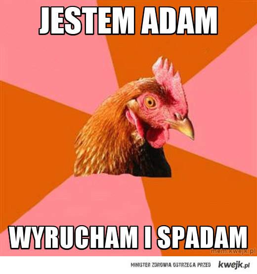jestem adam