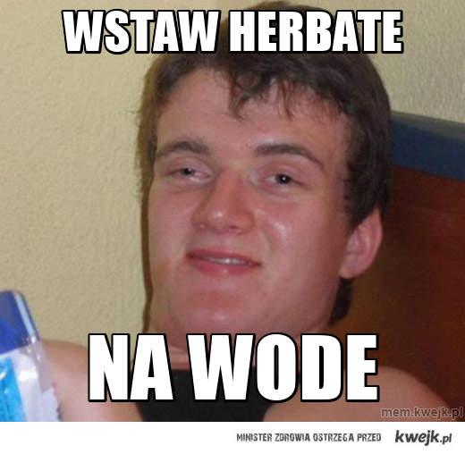 Wstaw herbate