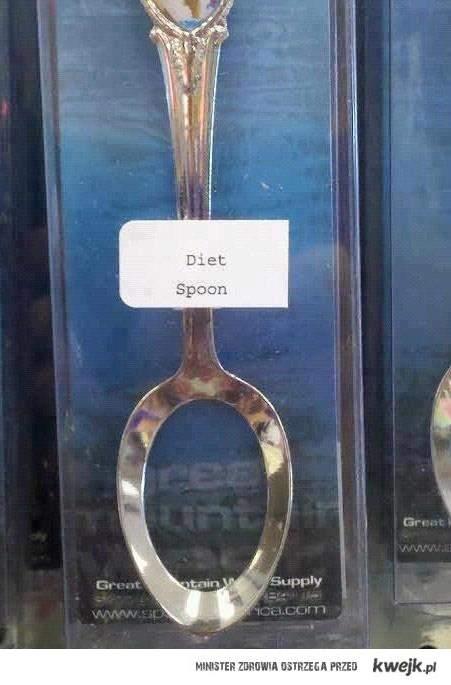 dietetyczna łyżka