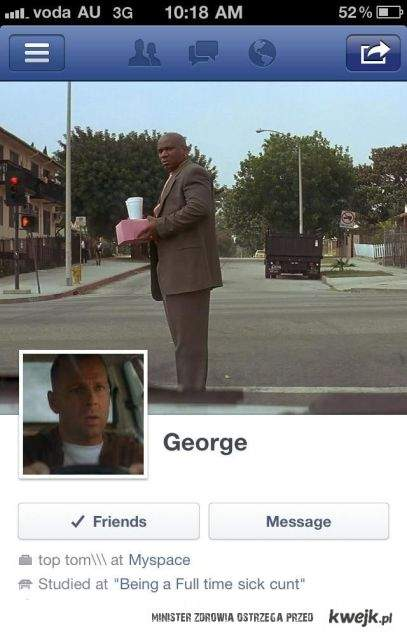 zajebisty profil na fb