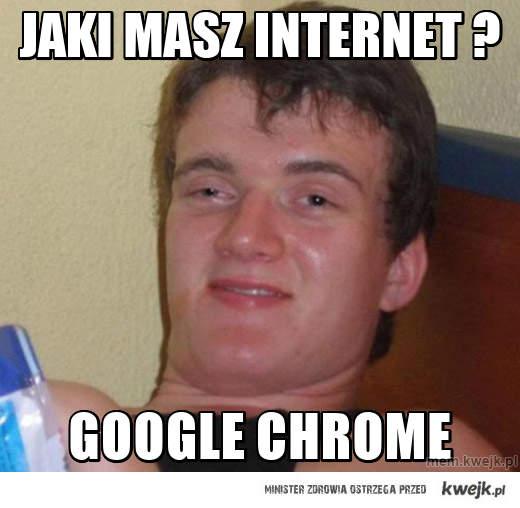 jaki masz internet ?