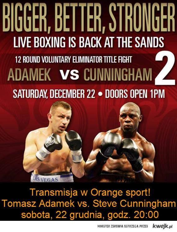 Adamek vs Cunningham