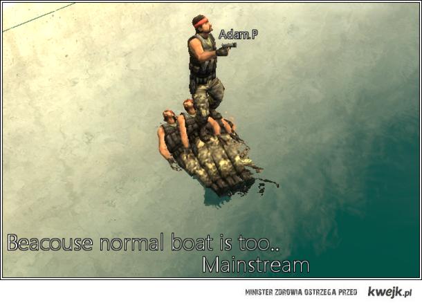 human Boat