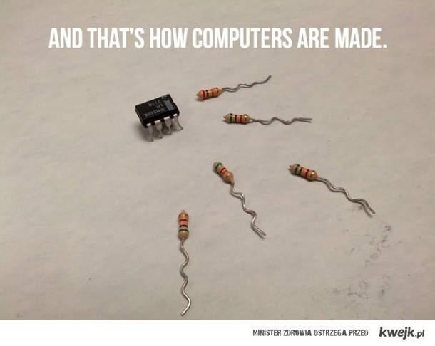 tak powstaja komputery