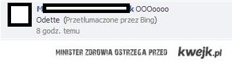 Tłumaczenia z Facebooka <3