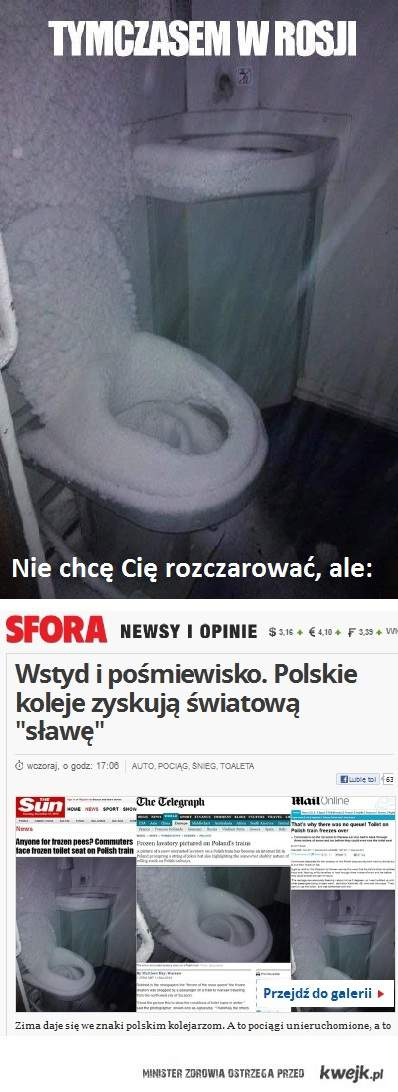 To nie Rosja, to Polska!
