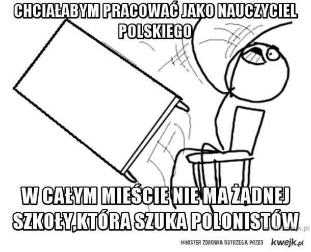 chciałabym pracować jako nauczyciel polskiego
