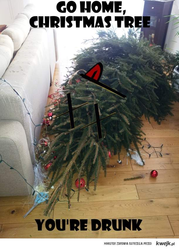 Go Home, Christmas tree...