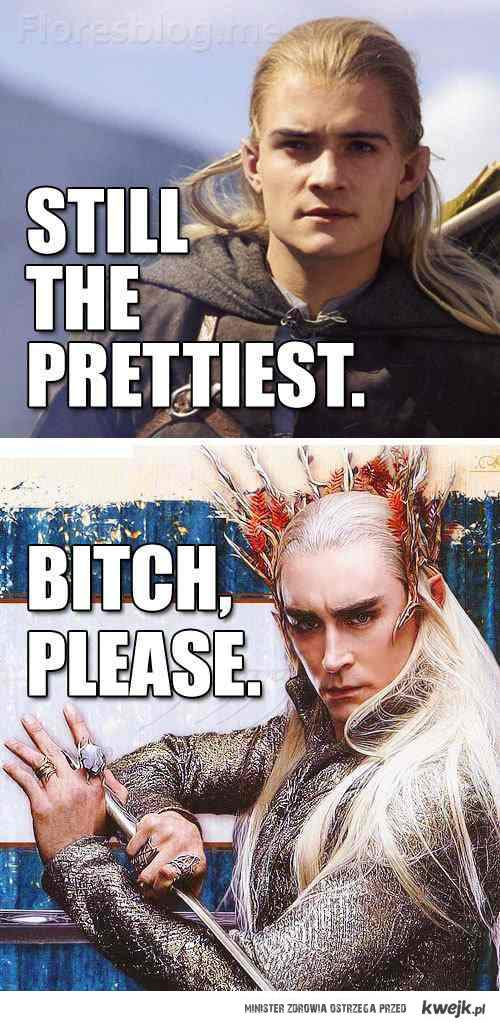 Bitch please thranduil