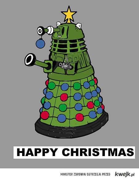 daleks - happy christmas