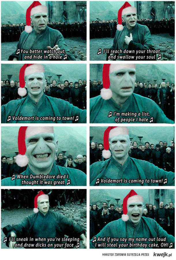 Piosenka Voldemorta