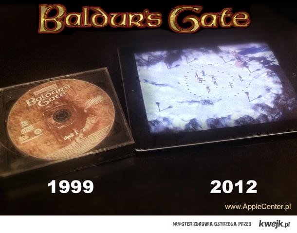 Baldur's Gate na iPada