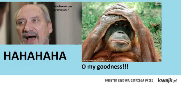 Macierewicz na premiera???