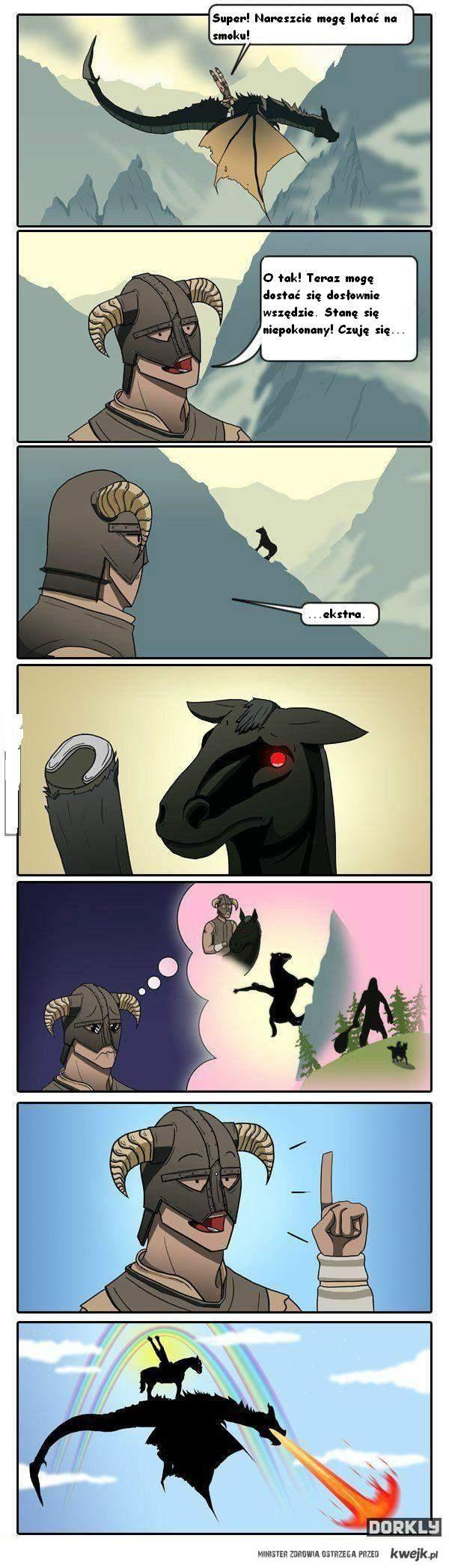 Smok i koń