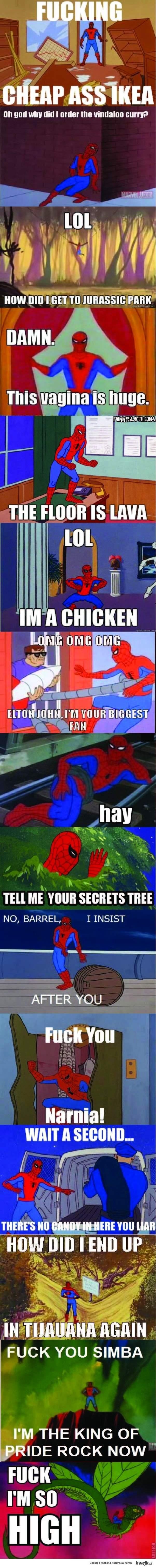 Stary Spiderman