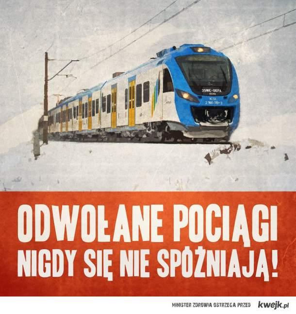 Odwolane pociągi