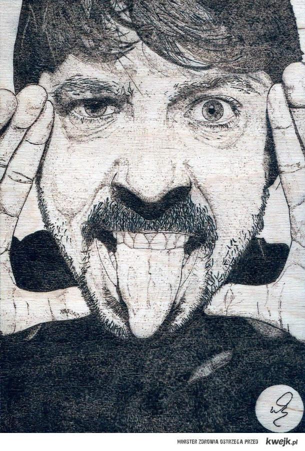 Dave Grohl pirografia