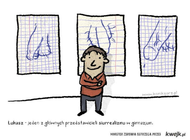 surrealizm w gimnazjum