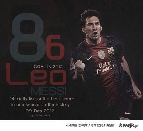 Messi - 86 goli.