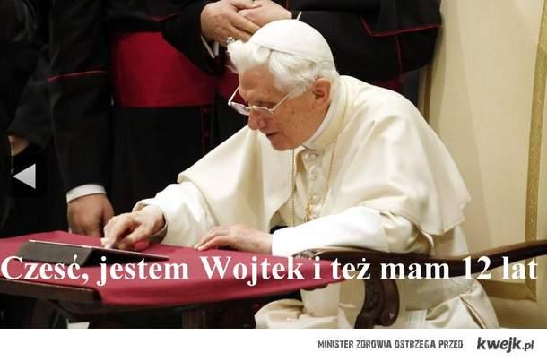 Co papież będzie robił w necie?