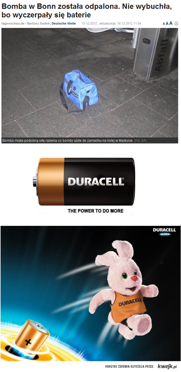 Duracell - the power to do more