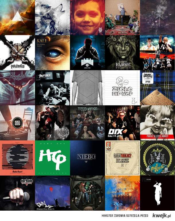 Rap Płyty Polska 2012 / Polski hip-hop 2012