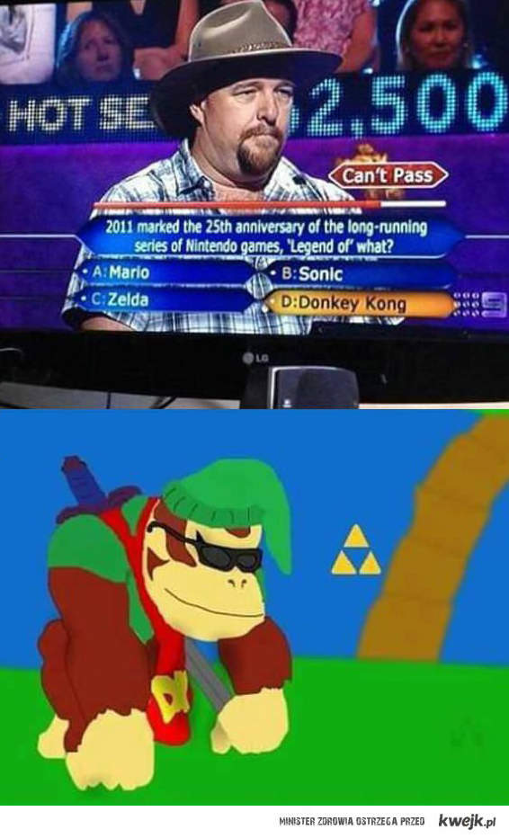 Legend of... donkey kong