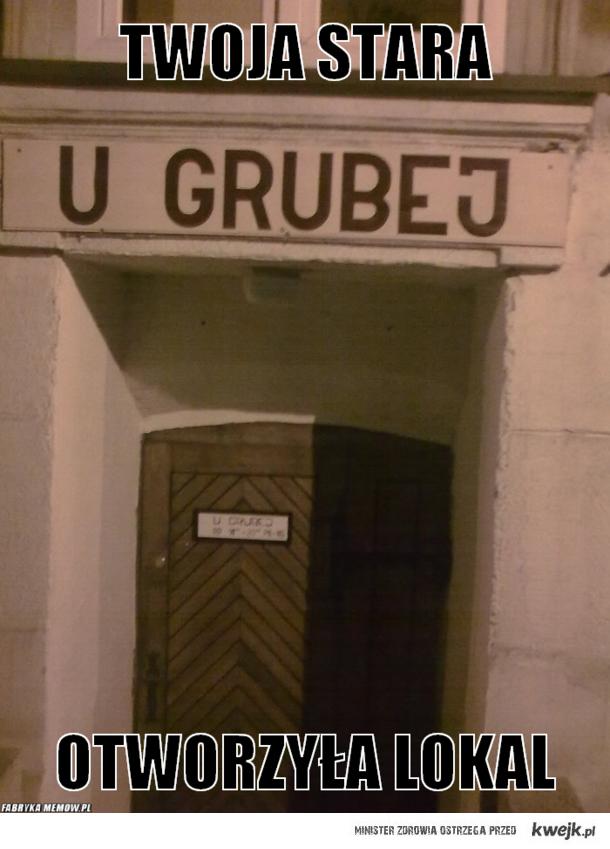 U GRUBEJ