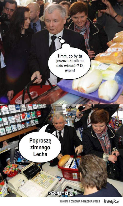 Jarosław poszedł do sklepu