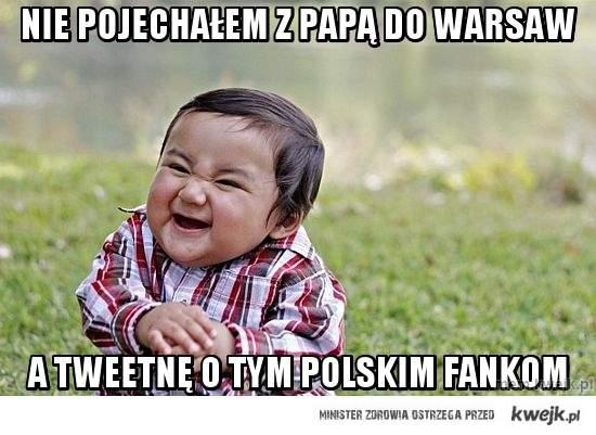 Nie pojechałem z Papą do Warsaw