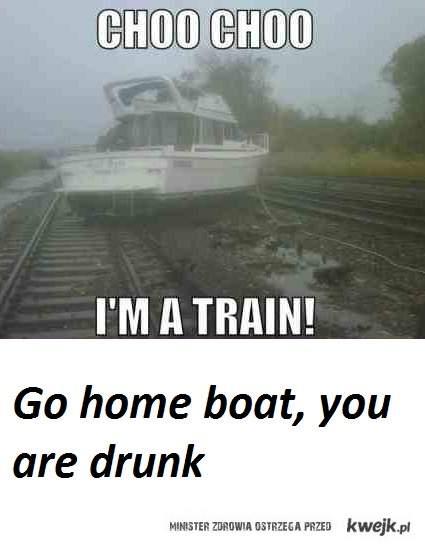 drunk boat