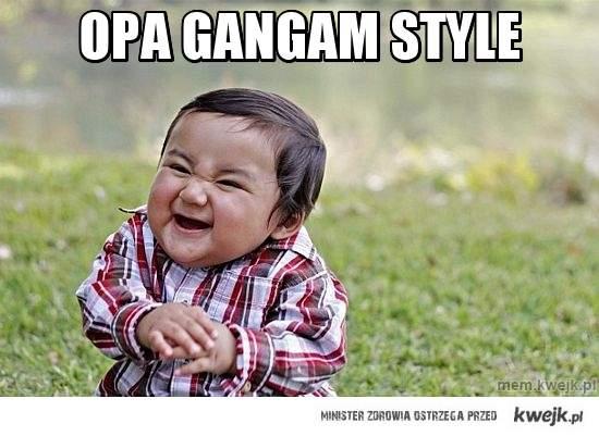 OPA gangam style
