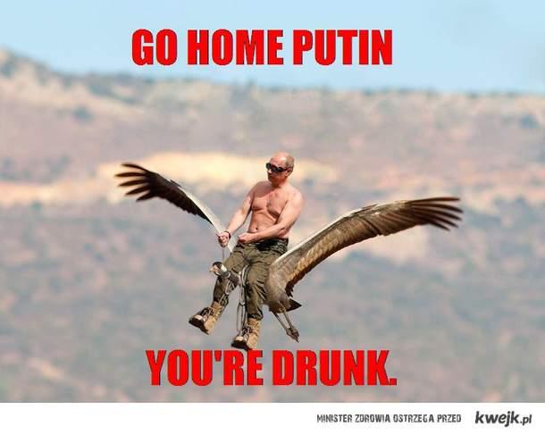 drunk putin