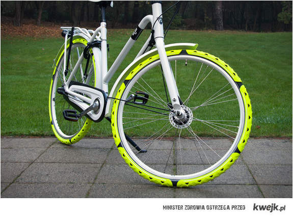Zima rowerowi nie straszna - genialne kolce na ulubione dwa kółka