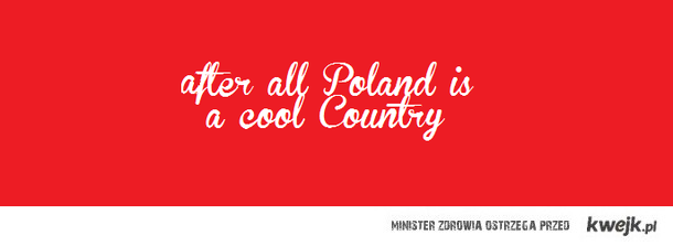 Thing about Poland