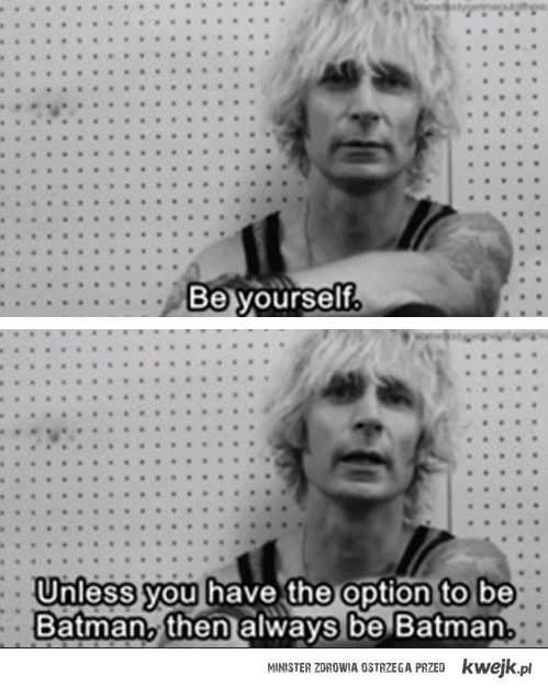 Bądź sobą