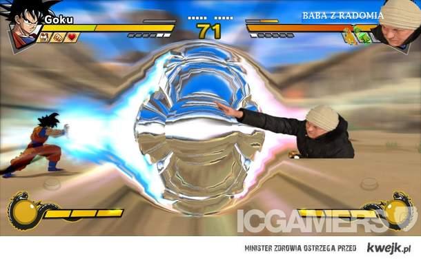 Goku vs Baba