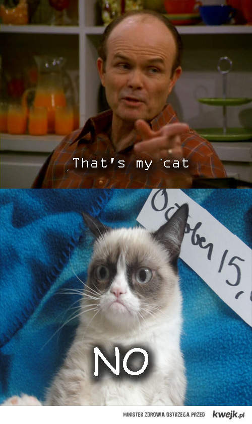 That's my cat