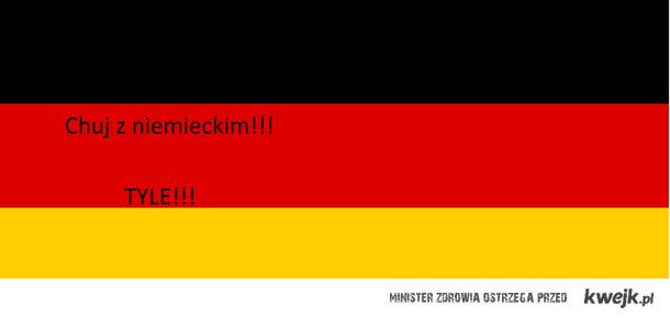 Chuj z niemieckim