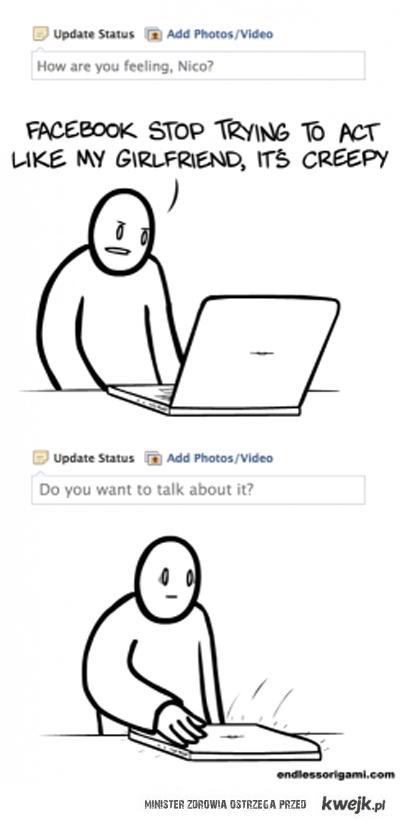Facebook mnie prześladuje