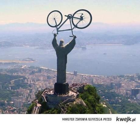 Jezus rowerzysta