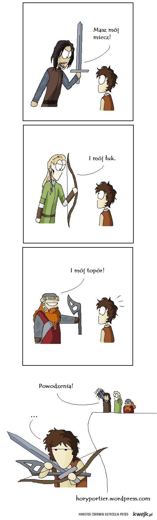 Masz mój miecz