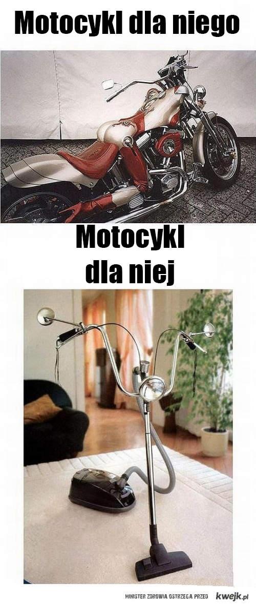 Motocykl dla kobiet