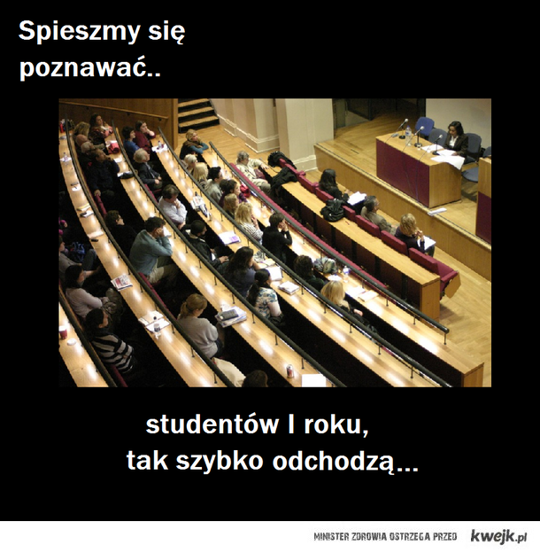 studenci 1 roku