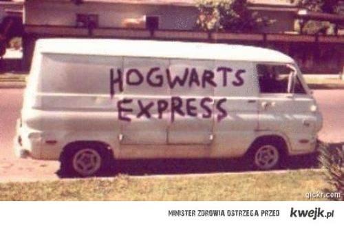 hogwarts express. ;]