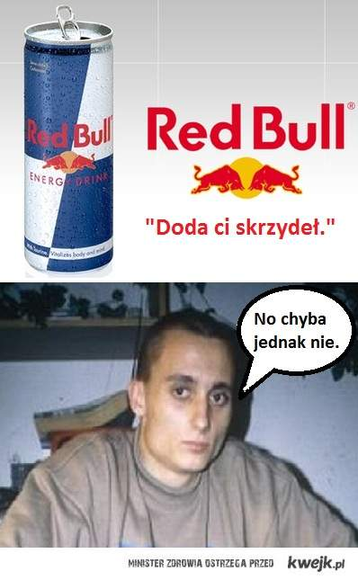 Red Bull Doda Ci skrzydeł.