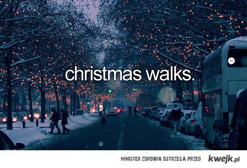christmas walks